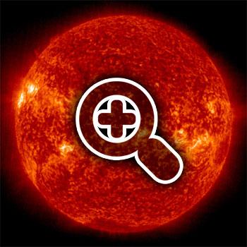 SOHO - EIT 304 © NASA's Community Coordinated Modeling ( http://ccmc.gsfc.nasa.gov )