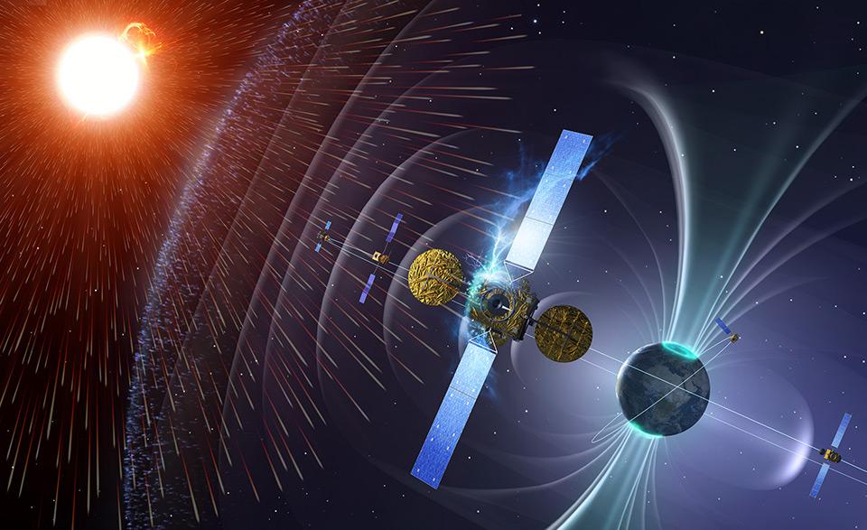 Surveillance de la situation spatiale par des satellites
