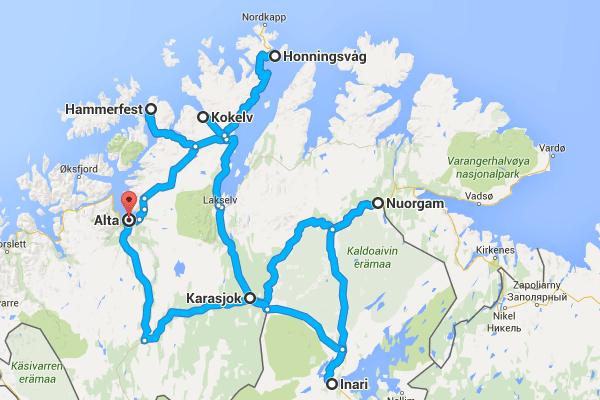 Road trip Norvège / Finlande