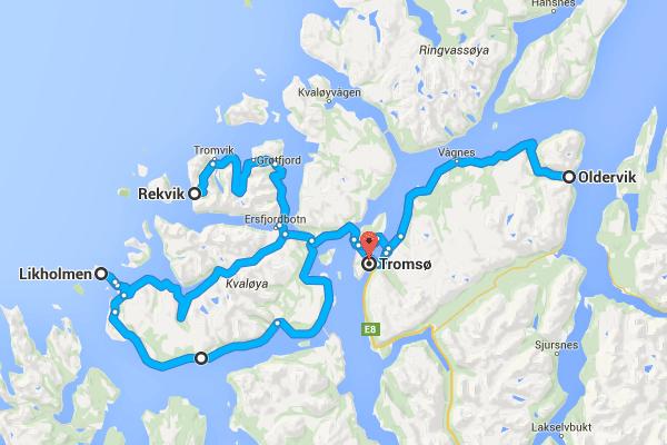 Road trip autour de Tromsø