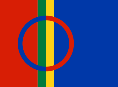Drapeau Sami