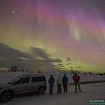 Aurores boreales du 17 mars 2015, nord de la Finlande - 17mm - 10s - f/4 - 2500 ISO
