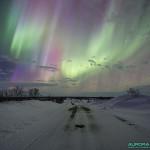 Aurores boreales du 17 mars 2015, nord de la Finlande - 19mm - 10s - f/4 - 2500 ISO