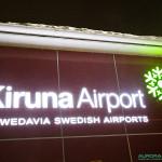 Aeroport de Kiruna, 23h00
