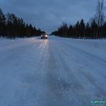 Comment se déplacer en Laponie en voiture