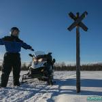Piste pour motoneige finlande