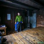 Refuge perdu au nord d'Hetta, Finlande