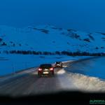 Routes norvegiennes entre Hammerfest et Honningsvag