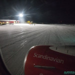 Scandinavian Airlines, Kiruna (Suède)