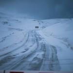 Route fermée de Cap Nord