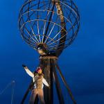 Le globe, emblème de Cap Nord