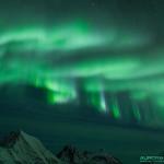 Aurore boréale Laponie Norvegienne