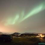 Aurore-boréale dans la région de Tromso