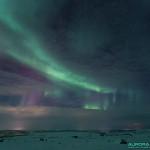 Aurore boréale en Laponie Finlandaise, à Nuorgam