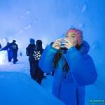 Bar du Ice Hotel de Kiruna