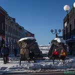 Centre ville de Kiruna
