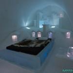 "Chambre ""PARIS"" au Ice Hotel de Kiruna"