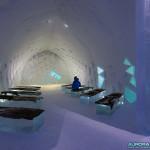 Eglise du Ice Hotel de Kiruna