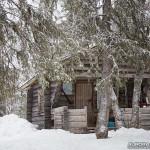 Refuge perdu dans la foret finlandaise