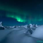 Aurores en Laponie finlandaise