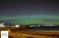 Hier soir, des aurores ont dansé au dessus d'Edimbourg ! (Ecosse)