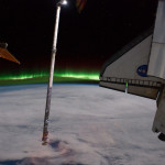 Aurores polaires depuis l'espace 2011.07.14 - NASA - Atlantis