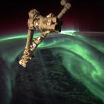 Aurores polaires vues depuis l'espace - 2012.07.15 - © NASA Joe Acaba