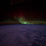Aurores vues polaires depuis l'espace - 2014.07.07 - © NASA