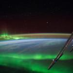 Aurores polaires vues depuis l'espace - 2014.07.15 - © NASA