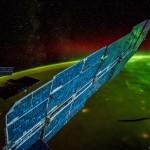 Aurores boréales vues depuis l'espace - 014.09.23 - © NASA Alex Gerst