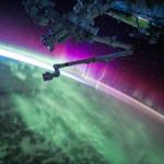 Aurores polaires vues depuis l'espace - 2015.08.15 - © NASA Scott Kelly