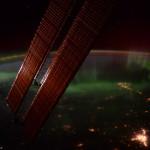 Aurores boréales depuis l'espace - 2016.01.20 - © NASA Scott Kelly