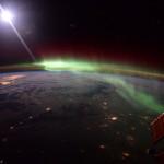 Aurores polaires depuis l'espace - 2016.01.20 - © NASA Scott Kelly