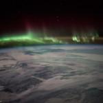 Aurores boréales vues depuis l'espace - 2016.01.21 - © NASA Scott Kelly - Canada