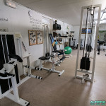 Salle de fitness, Hôtel Hetan Majatalo à Hetta, Enontekio (Finlande)