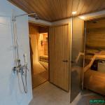 Sauna, hôtel Hetan Majatalo à Hetta, Enontekio (Finlande)