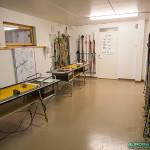 Ski room, hôtel Hetan Majatalo à Hetta, Enontekio (Finlande)