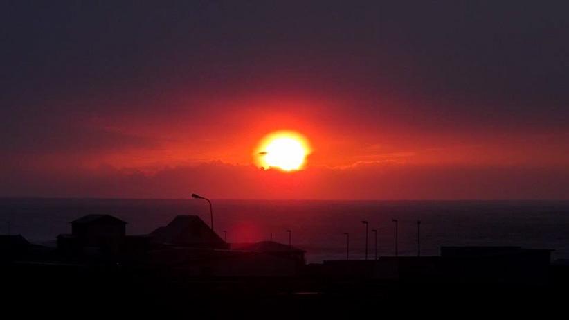 Lever de soleil Grindavik