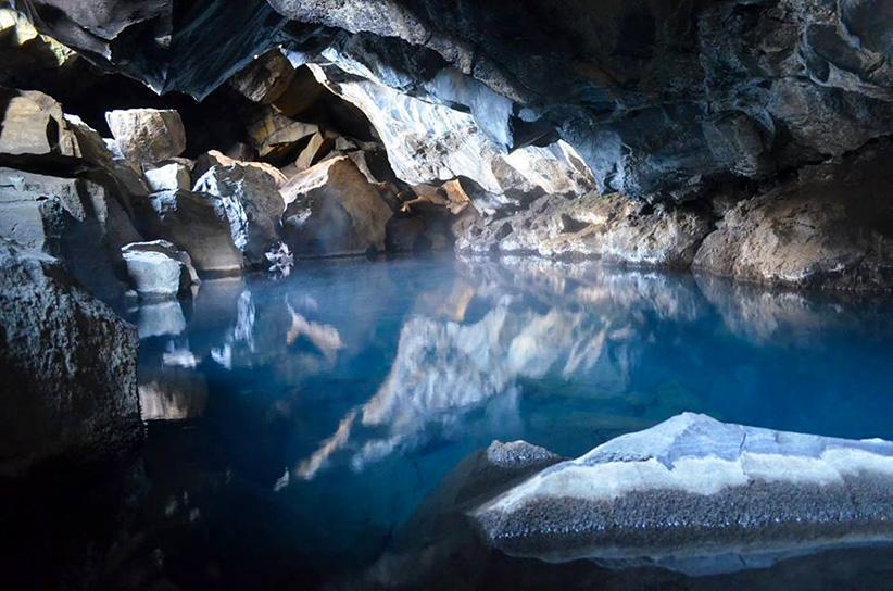 grotte souterraine Islande