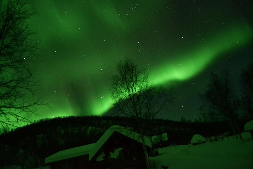 aurore boreale utsjoki