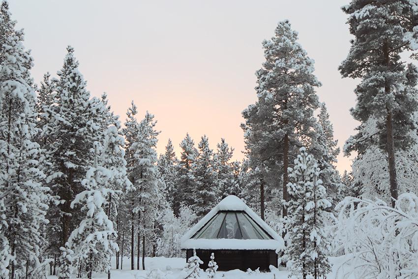laponie finlandaise hiver